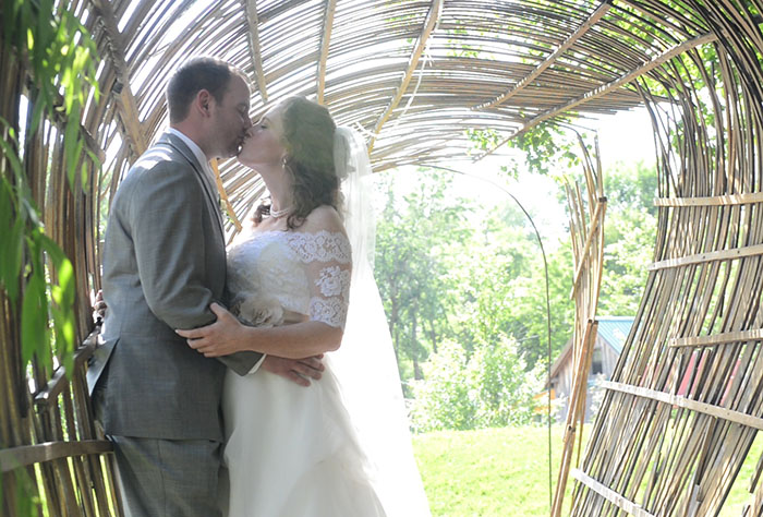 Fayetteville Wedding Video: Dorothy and Travis Botanical Gardens