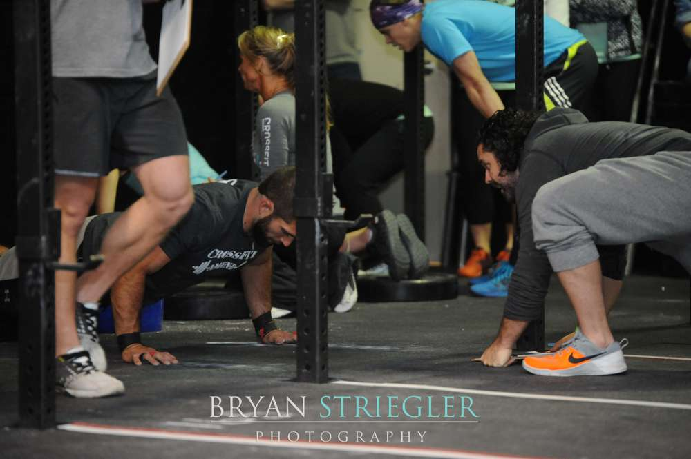 WOD Wars 2015 Summary Video burpees with teammate
